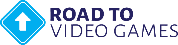 Road to Video Games Logo, roadtovideogames.com