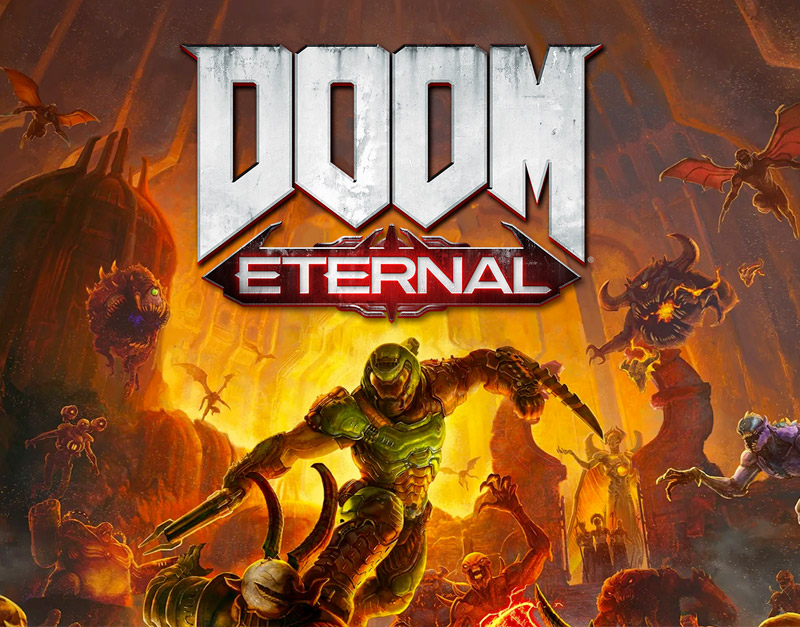 DOOM Eternal Standard Edition (Xbox One), Road to Video Games, roadtovideogames.com