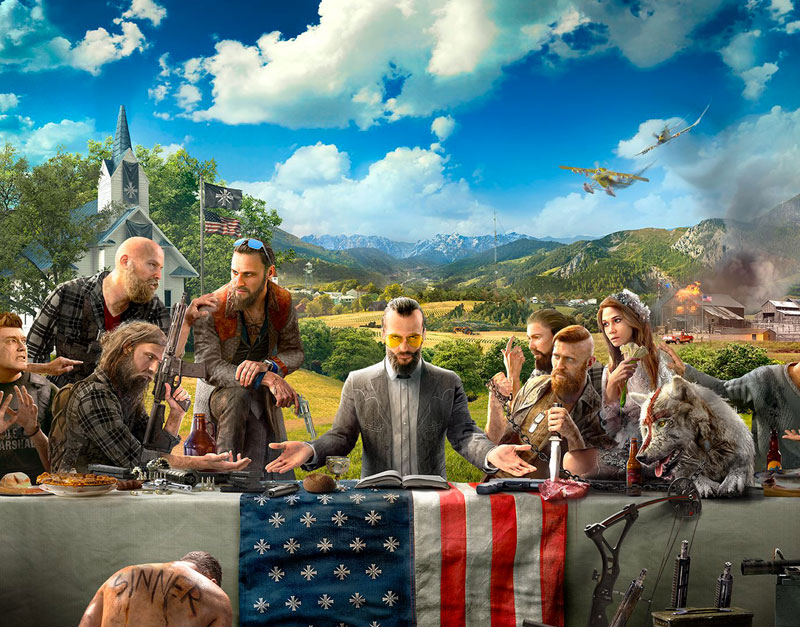 Far Cry 5 - Gold Edition (Xbox One), Road to Video Games, roadtovideogames.com