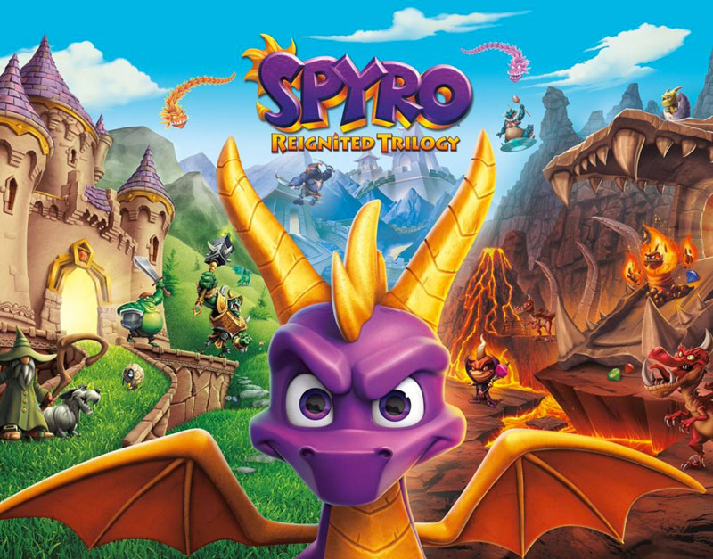 Spyro Reignited Trilogy (Xbox One), Road to Video Games, roadtovideogames.com