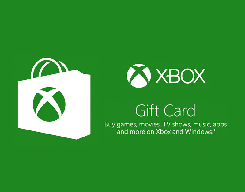 Xbox Live Gift Card, Road to Video Games, roadtovideogames.com